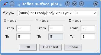 3D plots